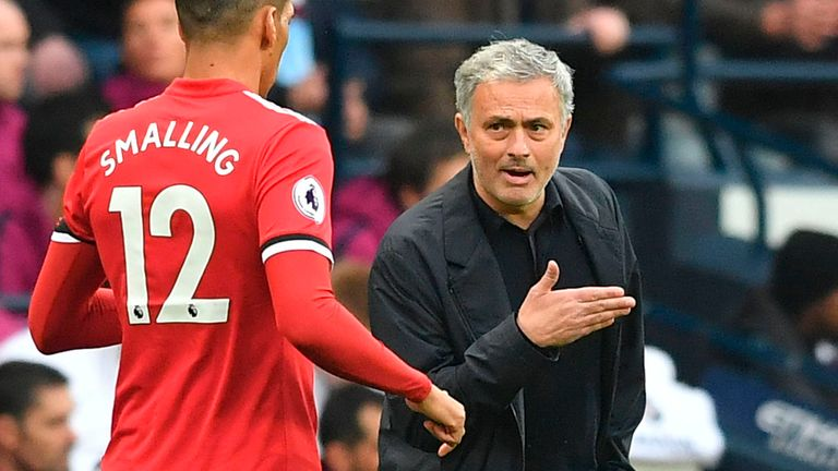 Mourinho led Man Utd to a 3-2 win over Man City at the Etihad Stadium in 2018