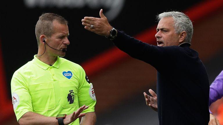 Jose Mourinho's Tottenham side failed to register a shot on target against Bournemouth on Thursday