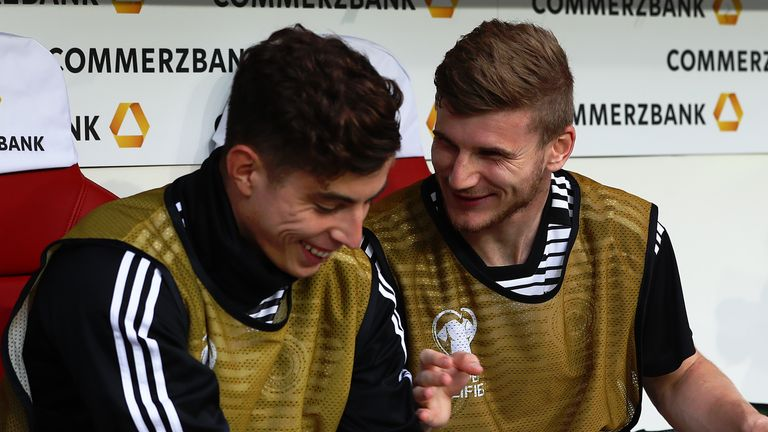 German duo Havertz and Timo Werner could both start next season at Chelsea
