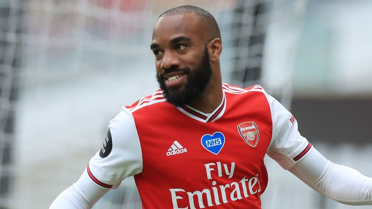 Alexandre Lacazette scored in Arsenal's win at Wolves on Saturday