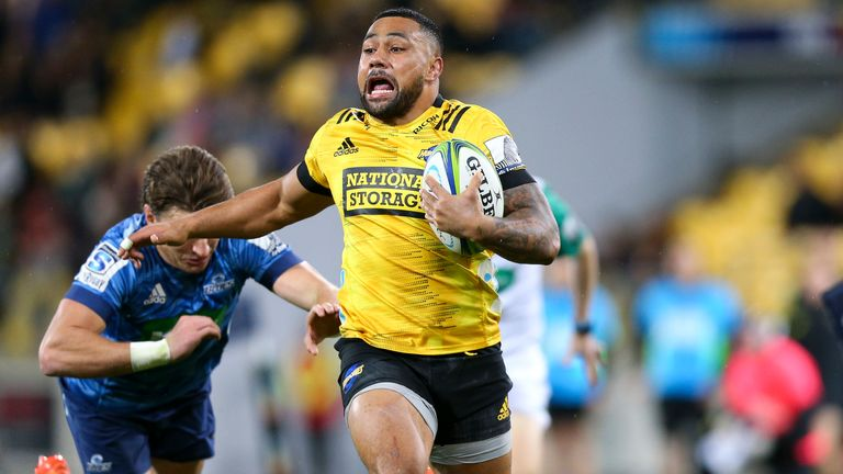 Laumape notched the opening try, with a stunning effort up the left
