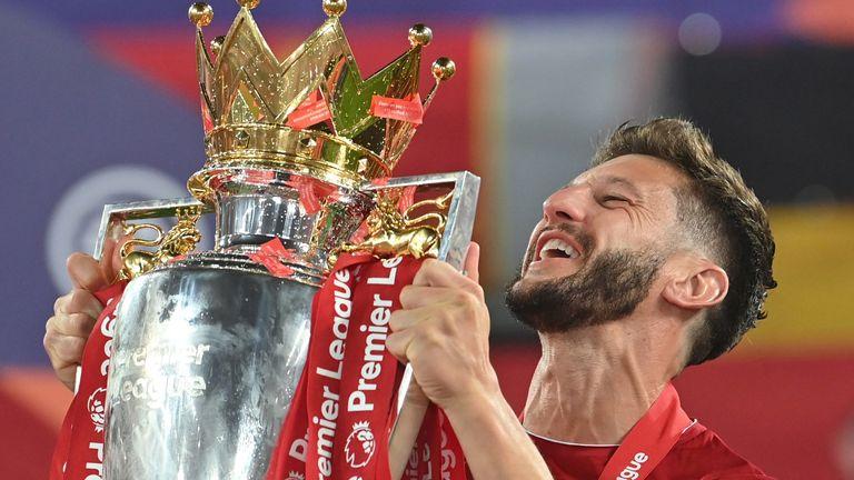 Adam Lallana has completed a move to Brighton