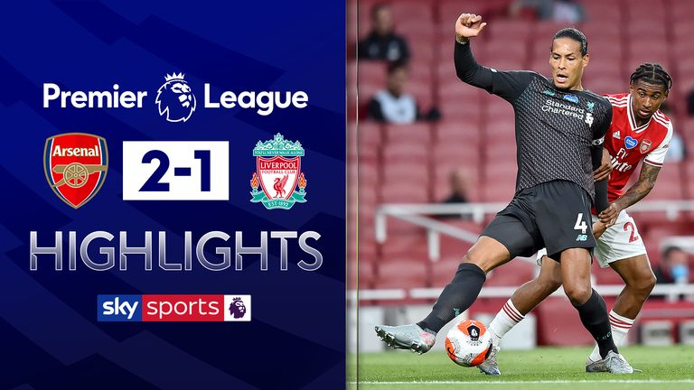 FREE TO WATCH: Highlights from Arsenal's win over Liverpool in the Premier League