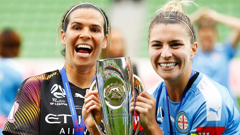 Williams joins former Melbourne City team-mate Steph Catley at Arsenal