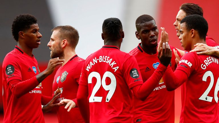 United are fighting for a spot in the top four, which seemed impossible just a few months back, but Solskjaer insists they've achieved nothing yet