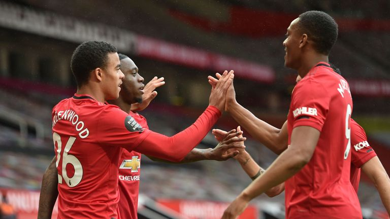 United anotó cinco veces contra Bournemouth en Old Trafford