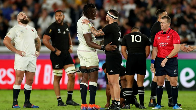 England and New Zealand were due to meet this autumn at Twickenham
