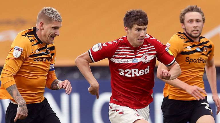 Middlesbrough and Hull are both fighting to avoid the drop