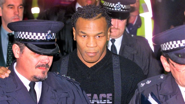 Tyson had agreed to a number of fights in Britain