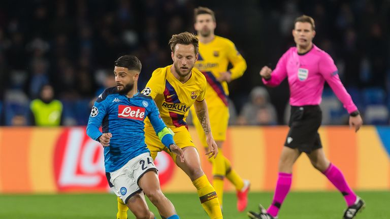 Napoli and Barcelona drew 1-1 in February's first leg in Naples