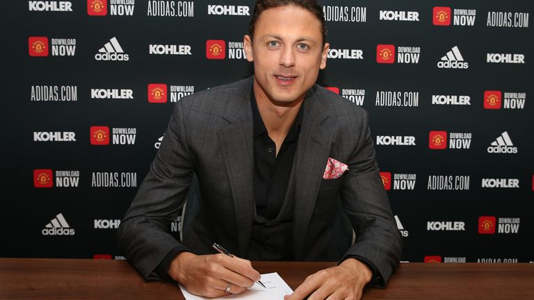 Nemanja Matic signed a new three-year contract with United in July