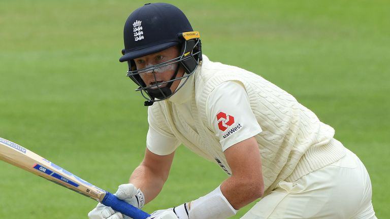 Ollie scored an unbeaten 55 on the final day of England's internal warm-up at The Ageas Bowl