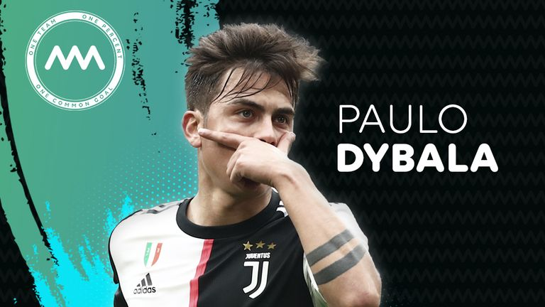 Juventus forward Paulo Dybala has joined Common Goal