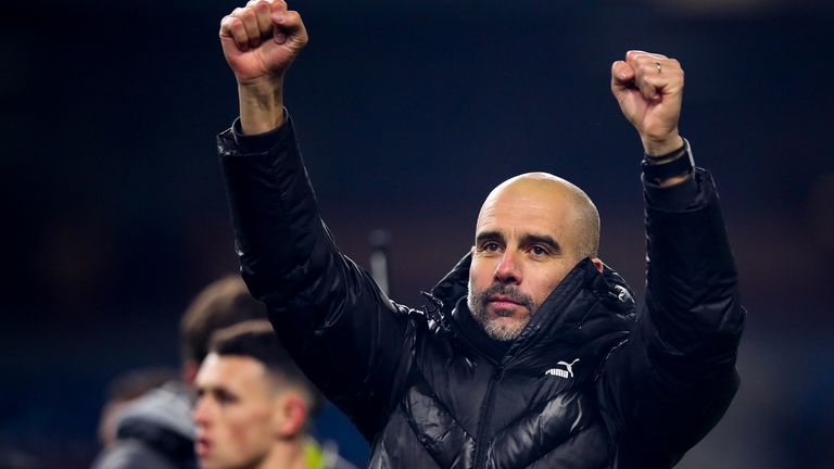 Guardiola's City are guaranteed to finish second in the Premier League, and could still win this season's Champions League