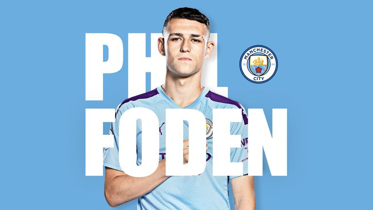 Manchester City youngster Phil Foden spoke exclusively to Sky Sports