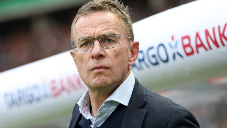 Ralf Rangnick is currently head of sport and development with Red Bull