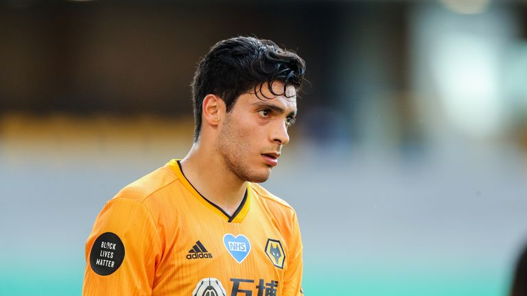 Wolves' Raul Jimenez has been the subject of transfer speculation amid comments from his Mexico coach