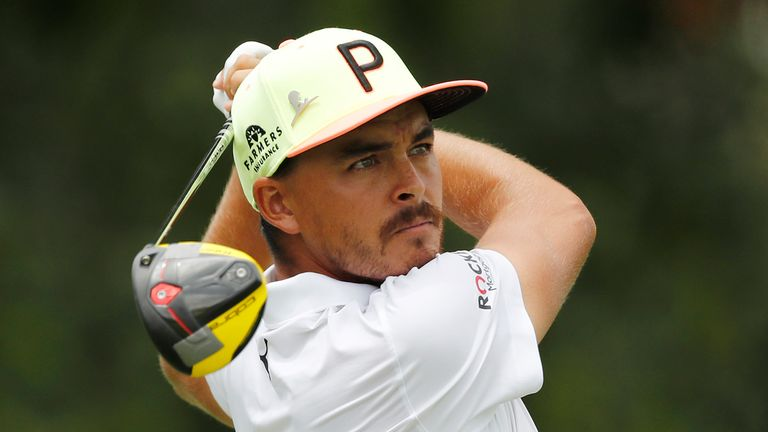 Rickie Fowler is tied for second in Memphis