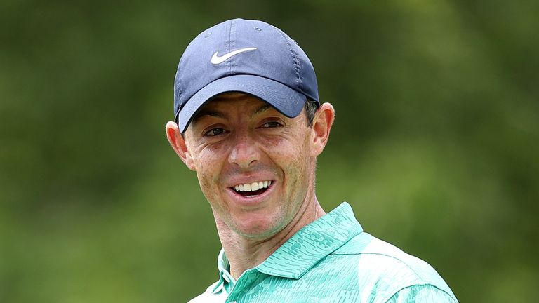 Rory McIlroy revealed he is to become a father 'very soon'