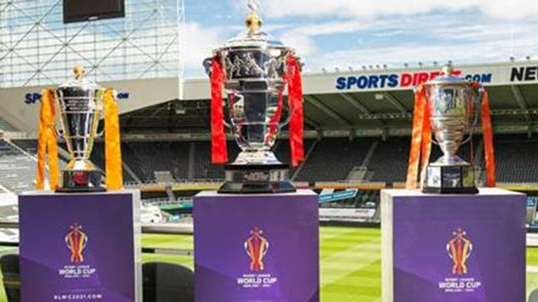 The Rugby League World Cup takes place in October and November 2021