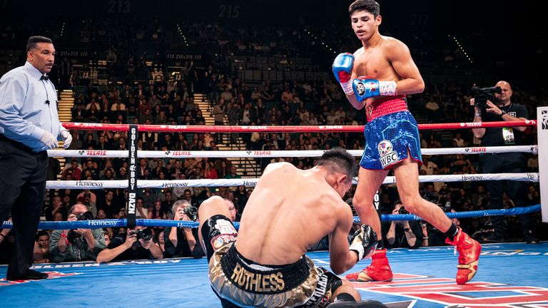 Garcia is unbeaten in 20 fights