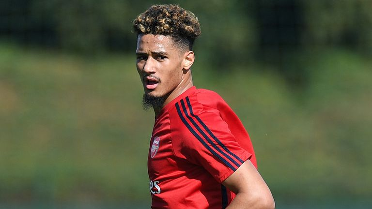 William Saliba has been handed the number four shirt at Arsenal ahead of next season