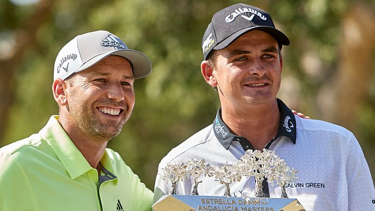 Christiaan Bezuidenhout is defending champion at the Andalucia Masters, where Sergio Garcia is a three-time winner