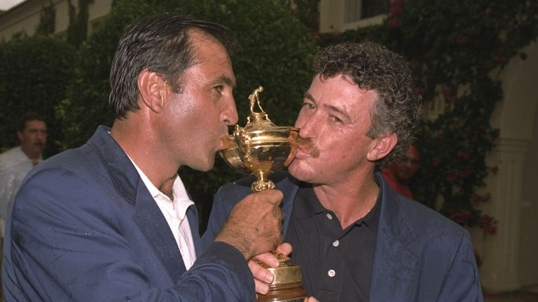 Being assistant captain to Seve at the 1997 Ryder Cup was a proud moment