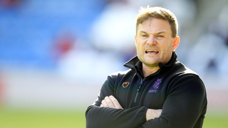 Huddersfield head coach Simon Woolford will have much to ponder
