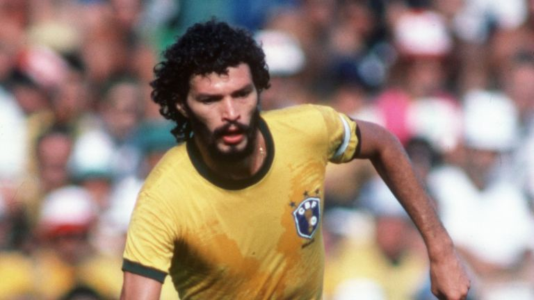 Rai's older brother, Socrates, acted for Brazil at the 1982 World Cup