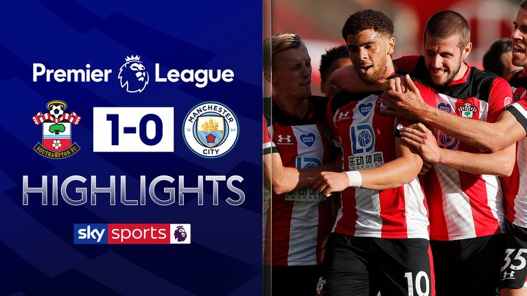 FREE TO WATCH: Highlights from Southampton's win over Manchester City