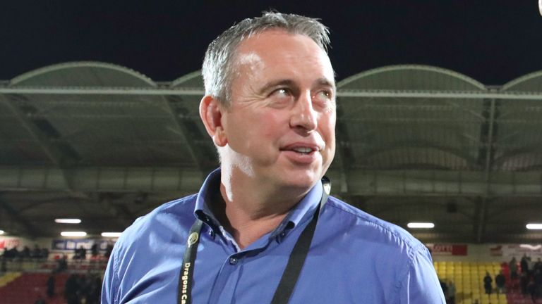 Catalans head coach Steve McNamara