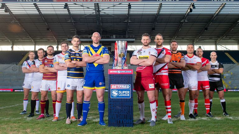 Super League has announced the fixtures for the rest of the season, with 21 matches live on Sky Sports in 29 days, starting on August 2