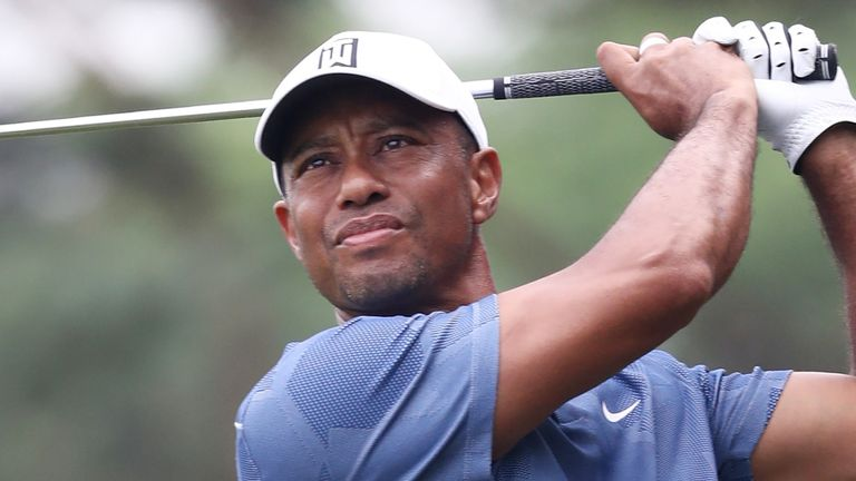 Tiger Woods has made only one start since golf resumed in June