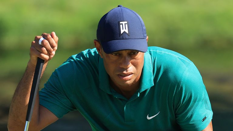 Woods has dropped to world No 14 after playing a limited schedule
