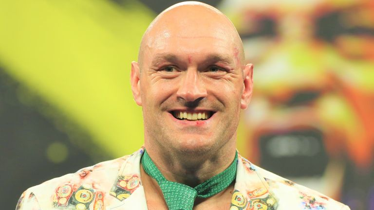 Tyson Fury is yet to announce his next WBC heavyweight title defence