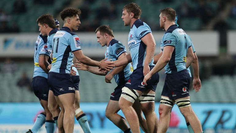 The Tahs scored a late first-half try through prop Angus Bell which halved the deficit