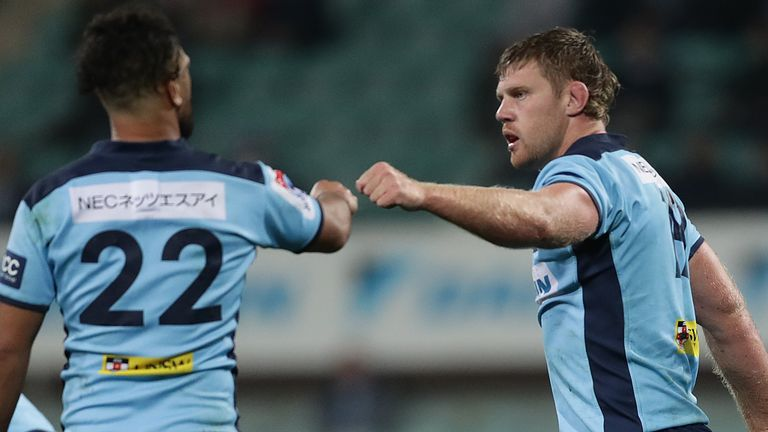 Tom Staniforth scored a second-half try as the Waratahs came from behind to beat the Western Force