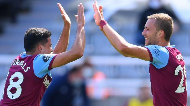 Soucek has scored twice since the Premier League restart