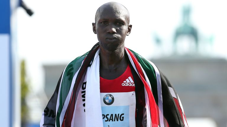 World Athletics said Wilson Kipsang, a bronze medallist at the 2012 Olympics, had four whereabouts failures between April 2018 and May 2019