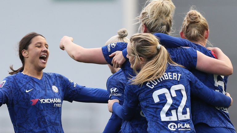Chelsea are the reigning WSL champions