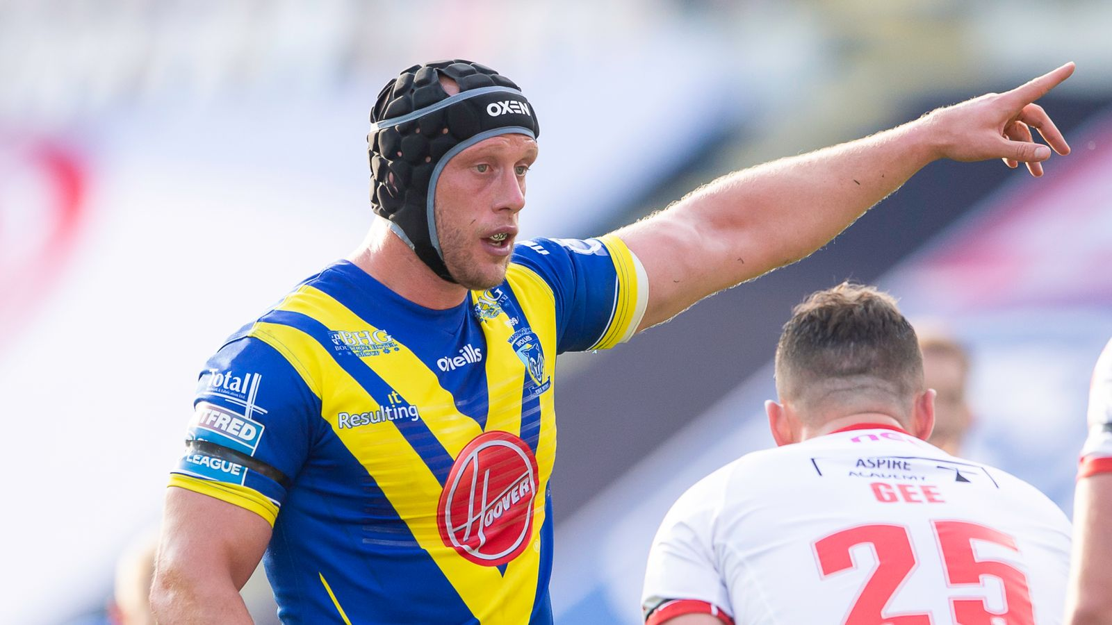 Super League: Warrington Wolves' Chris Hill on adapting to rugby league's new rules