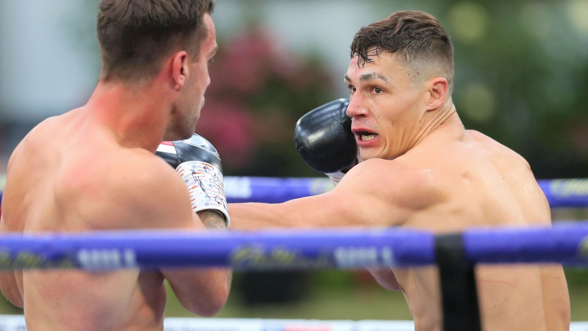 Billam-Smith blasts out Thorley - sky sports