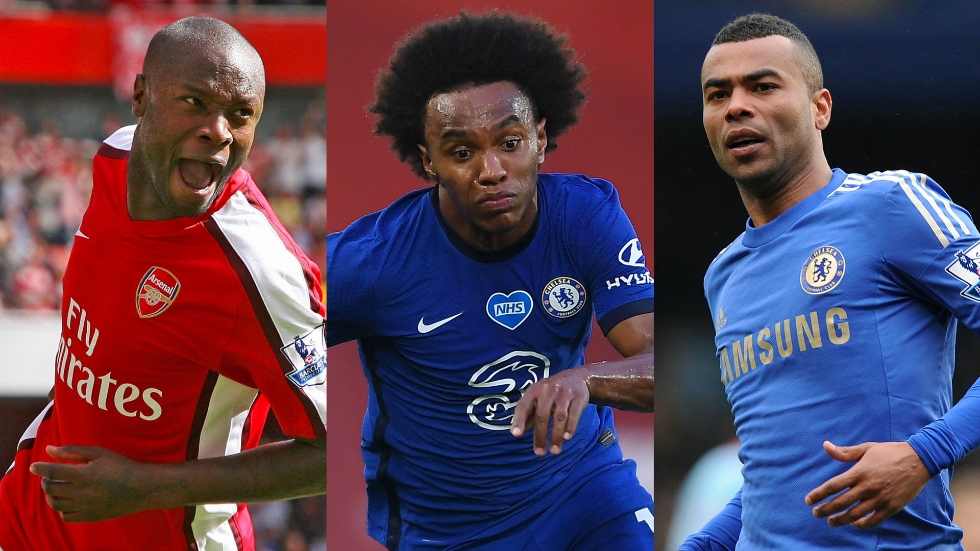 Willian the latest to cross Chelsea-Arsenal divide
