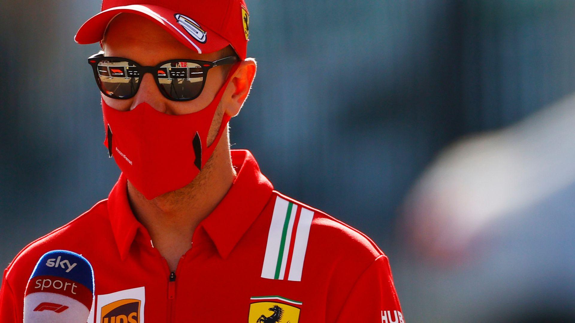 Vettel staying calm despite 'awkward' F1 struggle