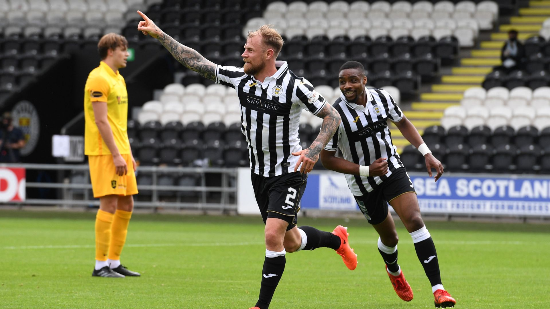 Tait's debut goal sees St Mirren past Livingston