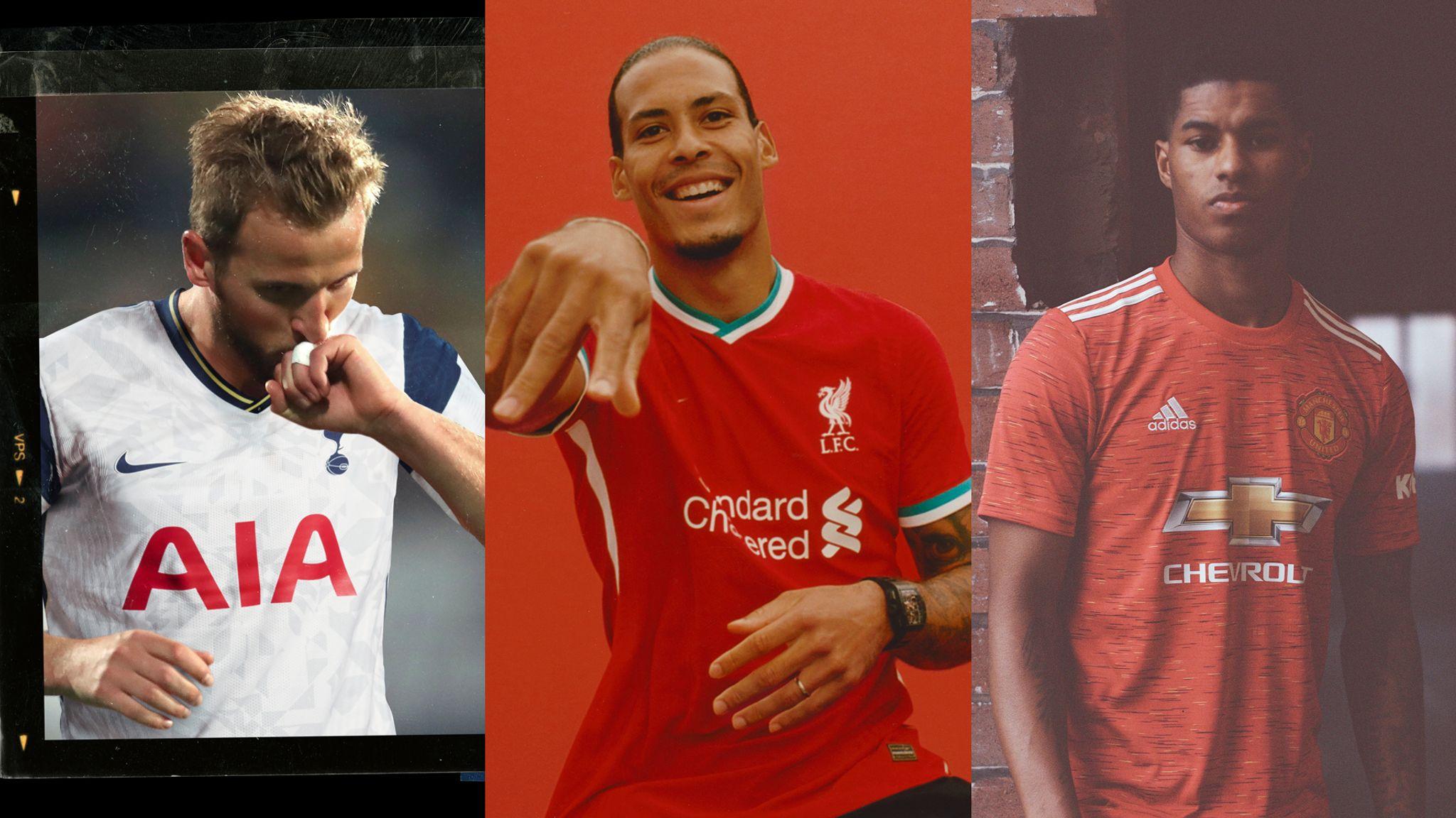 Premier League Kits New Strips For 2020 21 Football News Sky Sports