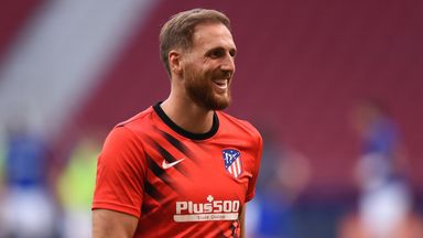 Oblak to consider future after CL campaign