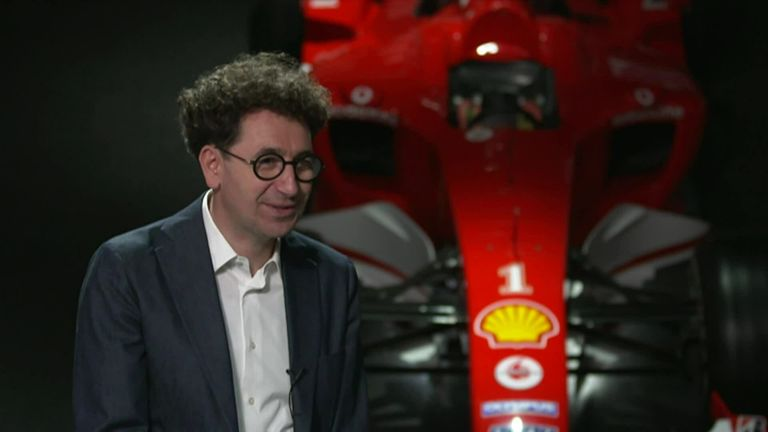 Ferrari's Mattia Binotto has been impressed with Charles Leclerc's leadership in his second season with the team