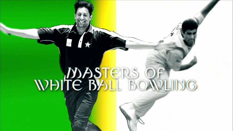 Legendary Pakistan pace-bowling pair Wasim Akram and Waqar Younis - with 918 ODI wickets between them - give a white-ball masterclass.